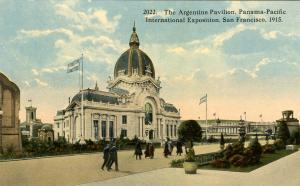 CA - San Francisco. 1915 Panama-Pacific Int'l Exposition. Argentine Pavilion