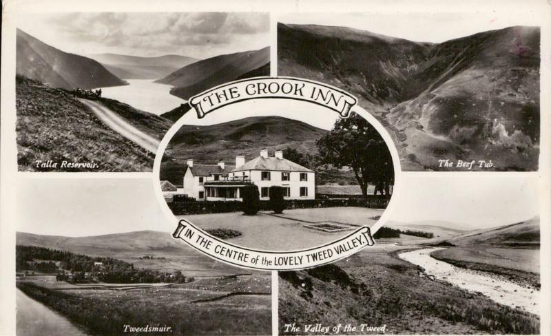 The Crook Inn Tweed Valley UK multi view