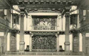 DC - Washington, Shakespeare Library, Stage of the Shakespeare Theatre
