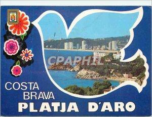 Modern Postcard Playa de Aro (Costa Brava)