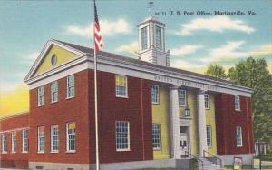 U S Post Office Martinsville Virginia
