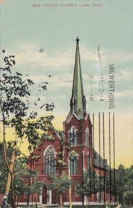 Church Old Trinity Church Lima Ohio 1911