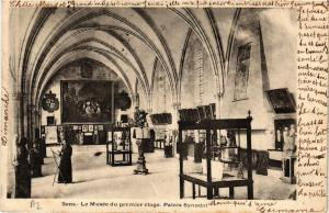 CPA  Sens - Le Musée du premier étage.Palais Synodal       (656908)