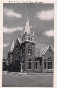 First Methodist Church Gainesville Texas
