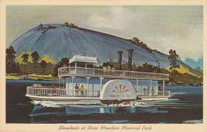 GEORGIA, 1940-1960's; Robert E. Lee Showboat At Stone Mountain Memorial Park