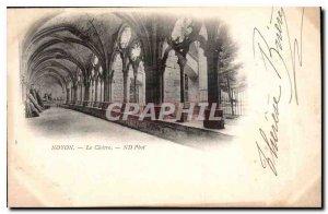 Old Postcard Noyon the Cloitre