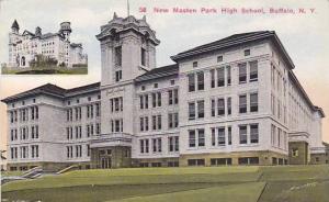 New Masten Park High School, Buffalo, New York, 1900-1910s