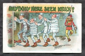 dc414 - PRISON Humor by Carmichael 1911 ANYBODY HERE SEEN KELLY?