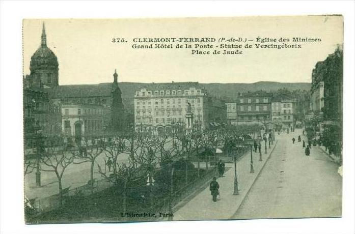 Clermond Ferrand, France, 00-10s   town square