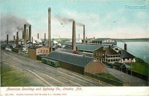 NE, Omaha, Nebraska, American Smelting and Refining Company, Souvenir & Novelty