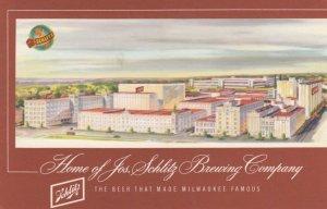 MILWAUKEE, Wisconsin, 1960; Home of Jos. Schlitz Brewing Company