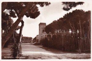 RP: BEYROUTH, Lebanon, 20-40s ; Residence