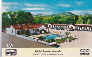 Arizona Wickenburg Motel Rancho Grande U S Highway 60 sk2856