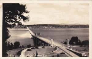 RP: lake Washington Floating Bridge , SEATTLE , Washington , 30-40s ; ELLIS #...
