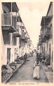 Biskra Algeria, Alger, Algerie Rue des Ouled Nails Biskra Rue des Ouled Nails