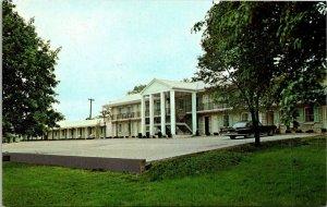 Vintage Postcard Bardstown Parkview Motel Old Kentucky Home State Park  1208