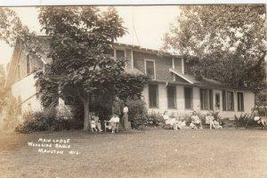 RP: MAULTON , Wis. , 1930-40s ; Main Lodge , Woodside Ranch