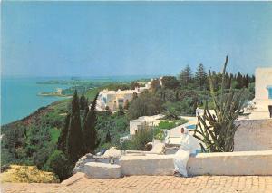 BR23220 Bou Said La Colline et ses jardins tunisia africa
