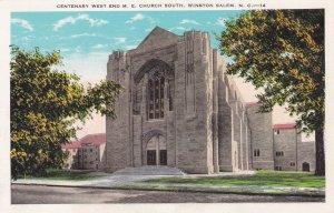 Centenary West End M. E. Church South , WINSTON SALEM , North Carolina ; 00s-10s