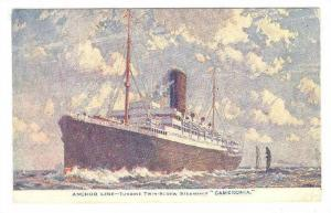 Ocean Liners , Anchor Line , T.S.S. CAMERONIA , 10-30s