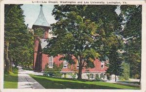 Virginia Lexington Lee Chapel Washington and Lee university