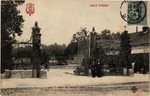 CPA AK TOUT Paris 12e 289 Rue de Dijon Entrée des Entrepots F. Fleury (479204)