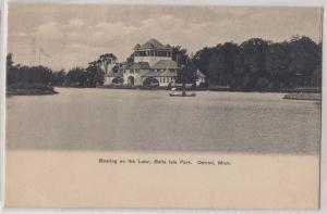 Boating on the Lake, Belle Isle Park, Detroit MI