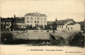 CPA MONTBÉLIARD - École pratique d'Industrie (366052)