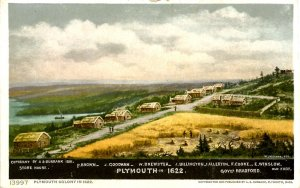 MA - Plymouth Colony in 1622