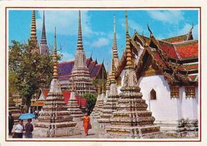 Thailand Bangkok Inside Wat Pho