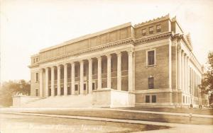 Cambridge Massachusetts~Harvard University~Widener Memorial Library~1c912 RPPC
