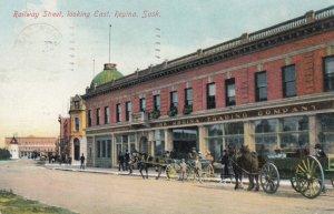 REGINA , Saskatchewan , Canada , 1900-10s ; Railway Street , East