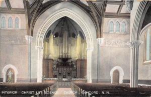 25546 NH, Concord, Christian Science Church, Interior