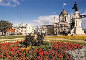 Canada Quebec Tourism Bureau the Old Post Office Samuel de Champlain Monument