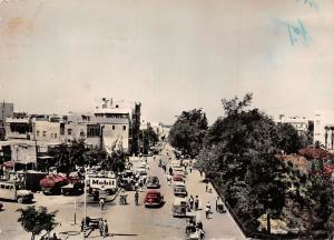 Syria Lattakia View of Port Mobil Auto Vintage Cars Voitures