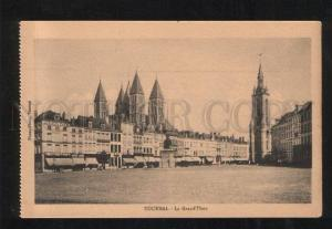 060218 BELGIUM Tournai LA Grand Place Vintage PC