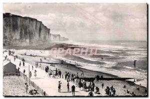 Old Postcard Ault Onival The Beach for the Terrace