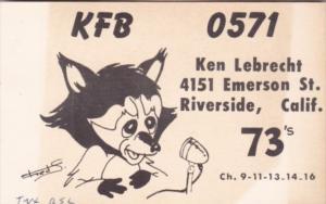 KFB 0571 Ken Lebrecht Riverside California
