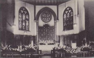 Connecticut New Haven St.Pauls Church Artvue