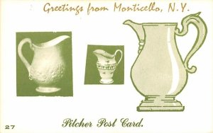 Greetings from Monticello, New York