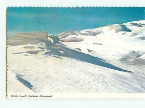 Vintage Postcard White Sands National  Monument Park New Mexico  # 2679