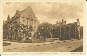 Swift Hall, The University Of Chicago, Bond Chapel