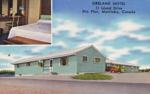FLIN FLON, Manitoba, Canada, 1940-1960's; Oreland Motel