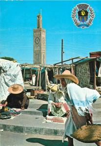 Scenes and figures of Tanger Morocco