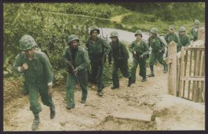 Okinawa,WWII Postcard