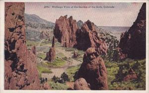 Birdseye View Of The Garden Of The Gods Colorado