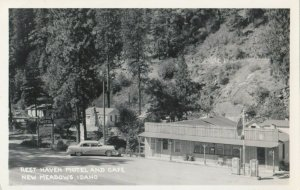 RP: NEW MEADOWS , Idaho , 1930-40s ; Resthaven Motel & Cafe
