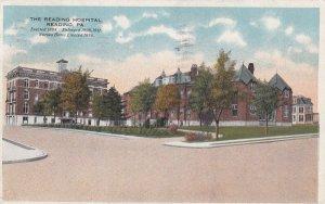 READING, Pennsylvania, PU-1917; The Reading Hospital