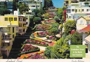 The Crookedest Street In The World Lombard Street Sandor Balatoni San Francis...
