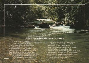 Song of the Chattahoochee River GA, Georgia and Alabama
